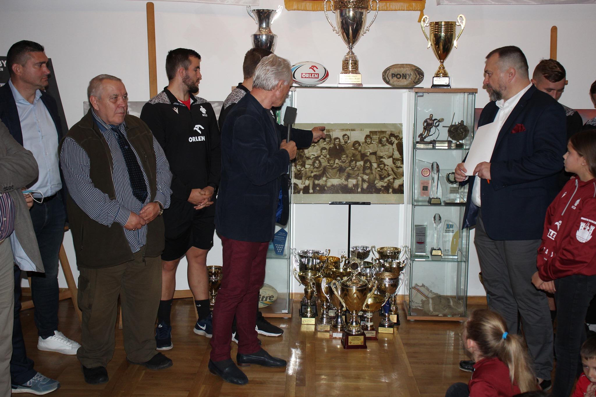 Niezwykła wystawa na obchody 50-lecia rugby w Sochaczewie